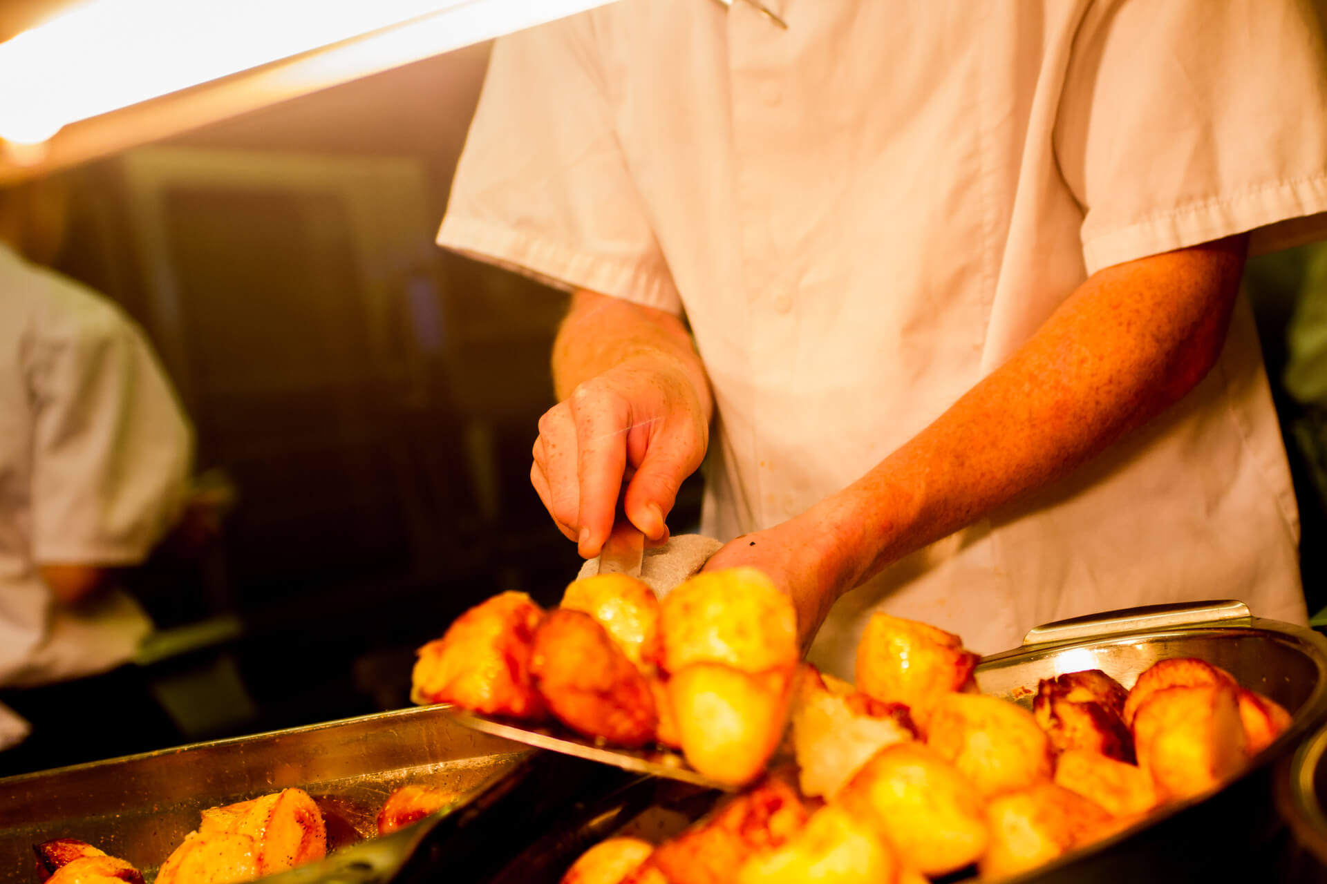 The Smugglers Inn - Roast Potato Photo
