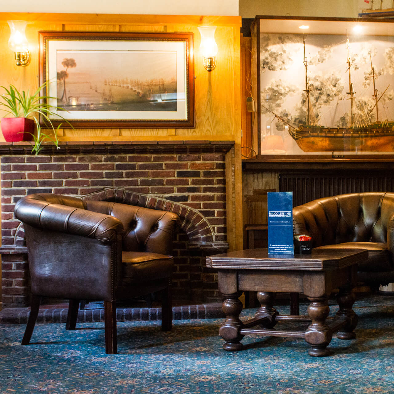 The Smugglers Inn - Lounge Square